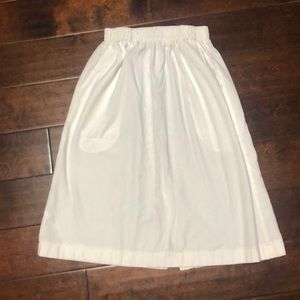 Landau White Scrub skirt